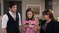 Ned Willis, Piper Willis, Terese Willis in Neighbours Episode 8010