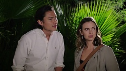 Leo Tanaka, Amy Williams in Neighbours Episode 8011