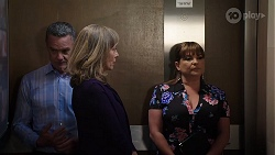 Paul Robinson, Jane Harris, Terese Willis in Neighbours Episode 8011