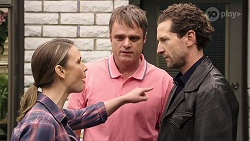 Amy Williams, Gary Canning, Joseph Bullen in Neighbours Episode 8012