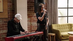 Keyboardist, Bea Nilsson in Neighbours Episode 8012