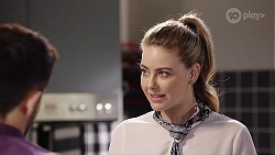 David Tanaka, Chloe Brennan in Neighbours Episode 8013