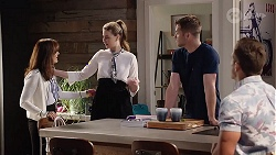 Fay Brennan, Chloe Brennan, Mark Brennan, Aaron Brennan in Neighbours Episode 8013