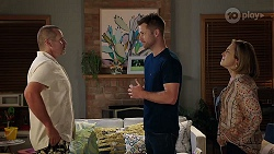 Toadie Rebecchi, Mark Brennan, Sonya Mitchell in Neighbours Episode 8013