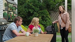 Gary Canning, Sheila Canning, Amy Williams in Neighbours Episode 8013