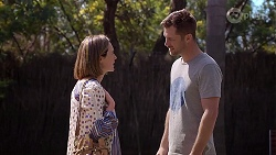 Sonya Mitchell, Mark Brennan in Neighbours Episode 8013