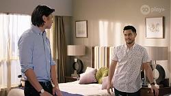 Leo Tanaka, David Tanaka in Neighbours Episode 8014