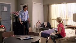 Leo Tanaka, Delaney Renshaw in Neighbours Episode 8015