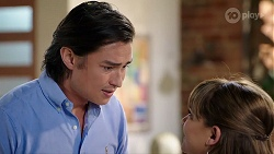 Leo Tanaka, Terese Willis in Neighbours Episode 8015