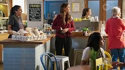 Yashvi Rebecchi, Elly Conway, Kirsha Rebecchi in Neighbours Episode 8016