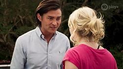 Leo Tanaka, Delaney Renshaw in Neighbours Episode 8016