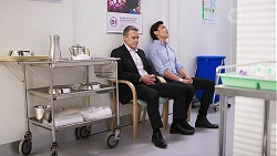 Paul Robinson, Leo Tanaka in Neighbours Episode 8016
