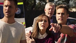 Mark Brennan, Fay Brennan, Aaron Brennan in Neighbours Episode 8017