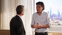 Paul Robinson, Leo Tanaka in Neighbours Episode 8018