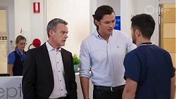 Paul Robinson, Leo Tanaka, David Tanaka in Neighbours Episode 8019