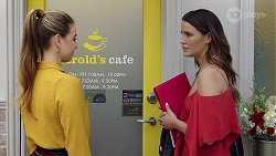 Chloe Brennan, Elly Conway in Neighbours Episode 8021