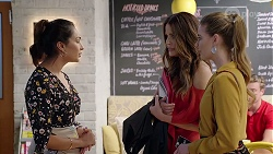 Dipi Rebecchi, Elly Conway, Chloe Brennan in Neighbours Episode 8021