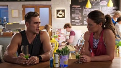 Aaron Brennan, Elly Conway in Neighbours Episode 8022