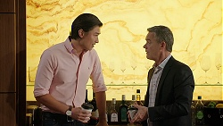 Leo Tanaka, Paul Robinson in Neighbours Episode 8024