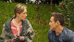 Sonya Mitchell, Aaron Brennan in Neighbours Episode 8025