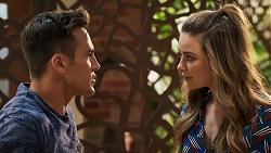 Aaron Brennan, Chloe Brennan in Neighbours Episode 8025