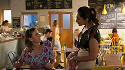 Amy Williams, Dipi Rebecchi in Neighbours Episode 8025