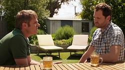 Gary Canning, Shane Rebecchi in Neighbours Episode 8025