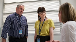 Karl Kennedy, Francis Rae, Sonya Mitchell in Neighbours Episode 8026