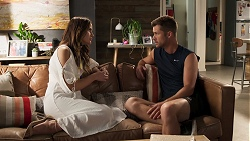 Elly Conway, Mark Brennan in Neighbours Episode 8026