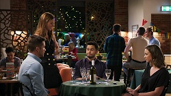 Mark Brennan, Melissa Lohan, David Tanaka, Amy Williams in Neighbours Episode 8027
