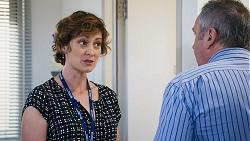 Dr Kristin Goodwin, Karl Kennedy in Neighbours Episode 8027