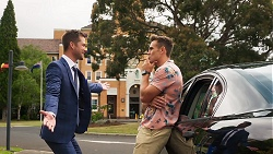 Mark Brennan, Aaron Brennan in Neighbours Episode 8028