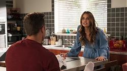 Aaron Brennan, Elly Conway in Neighbours Episode 8030