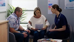 Toadie Rebecchi, Sonya Rebecchi, Claire Marshall in Neighbours Episode 8031