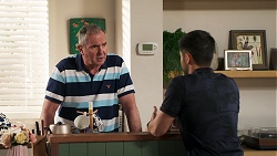Karl Kennedy, David Tanaka in Neighbours Episode 8032