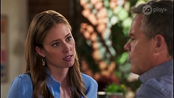 Melissa Lohan, Paul Robinson in Neighbours Episode 8033