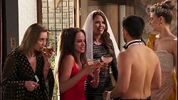 Piper Willis, Bea Nilsson, Elly Conway, David Tanaka, Chloe Brennan in Neighbours Episode 8033