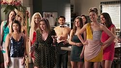 Piper Willis, David Tanaka, Chloe Brennan in Neighbours Episode 8033