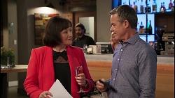 Jane Fraser, Paul Robinson in Neighbours Episode 8033