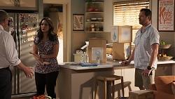 Toadie Rebecchi, Dipi Rebecchi, Shane Rebecchi in Neighbours Episode 8035