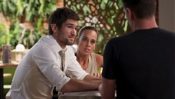 Ned Willis, Bea Nilsson, Lucas Fitzgerald in Neighbours Episode 8035