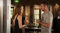 Melissa Lohan, Mark Brennan in Neighbours Episode 8035