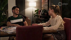 David Tanaka, Chloe Brennan in Neighbours Episode 8036