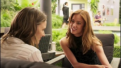 Elly Conway, Melissa Lohan in Neighbours Episode 8036
