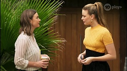Amy Williams, Chloe Brennan in Neighbours Episode 8036