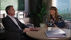 Paul Robinson, Terese Willis in Neighbours Episode 8037