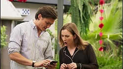 Leo Tanaka, Piper Willis in Neighbours Episode 8037