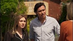 Piper Willis, Leo Tanaka, Sonya Rebecchi in Neighbours Episode 8037