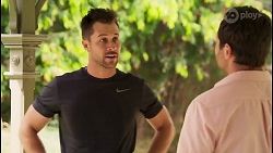 Mark Brennan, Shane Rebecchi in Neighbours Episode 8037