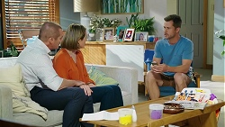 Toadie Rebecchi, Sonya Rebecchi, Mark Brennan in Neighbours Episode 8038
